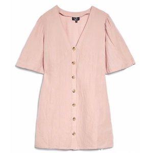 NWT TOPSHOP Angel Sleeve Shift Dress